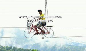 Wahana Selfi Sky Bike Di Ungaran